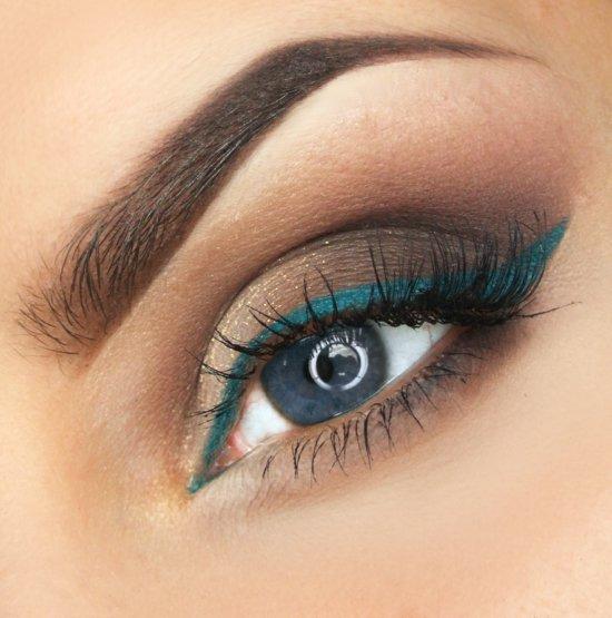 ежедневен-грим-за-очи--синьо-идея