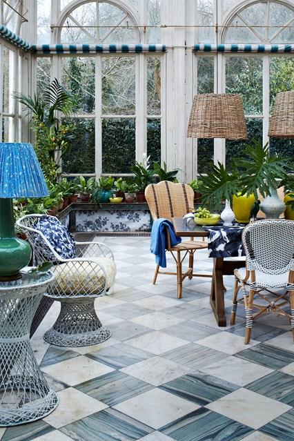 зимна градина мебели обзавеждане идеи