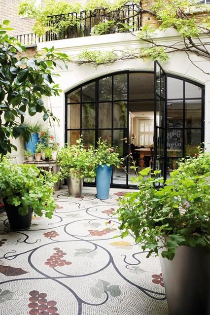 зимна-градина-пътека-мозайка-дизайн