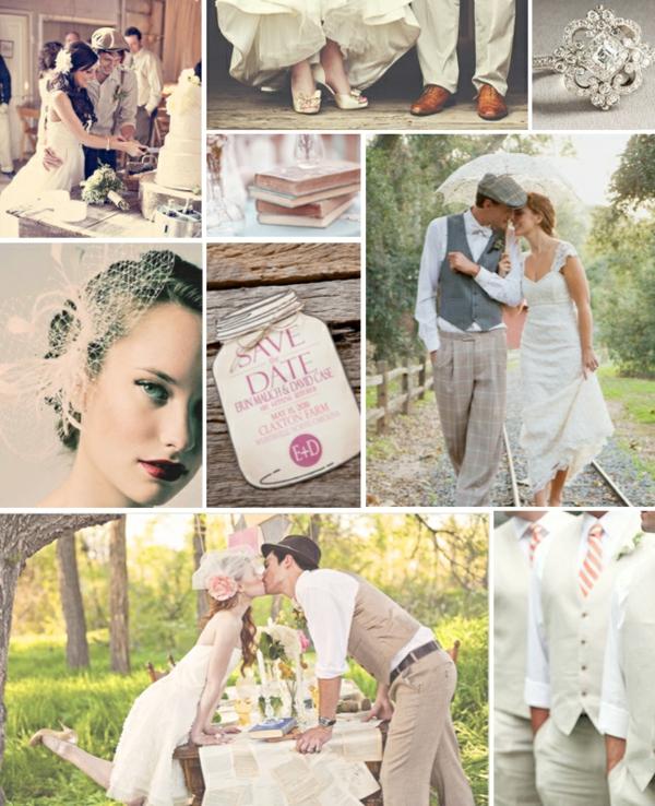 идеи винтидж сватба
