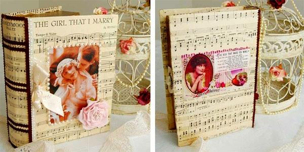 идеи-за-винтидж-сватба-книги-декорация