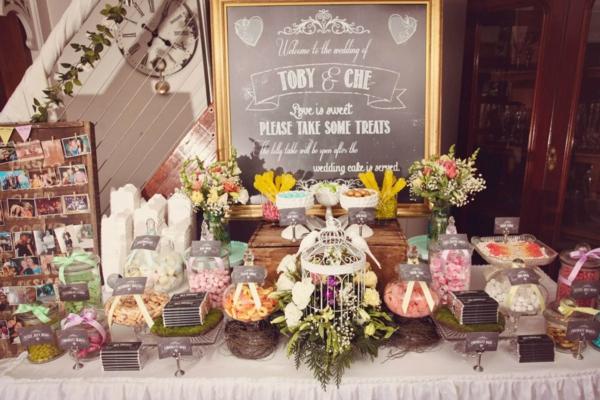 идеи винтидж сватба декорация