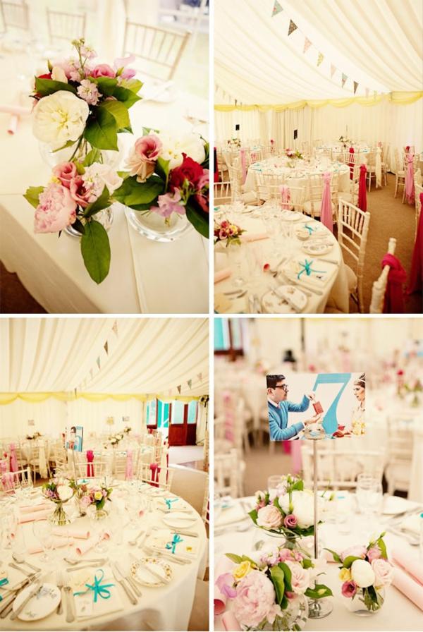 идеи за винтидж сватба украса