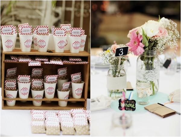 идеи за винтидж сватба декорация