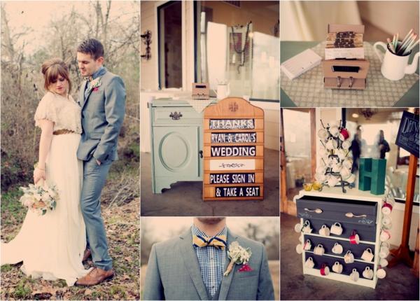 идеи за винтидж сватба