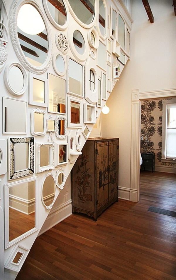 идеи за дизайн на коридор декорация с огледала