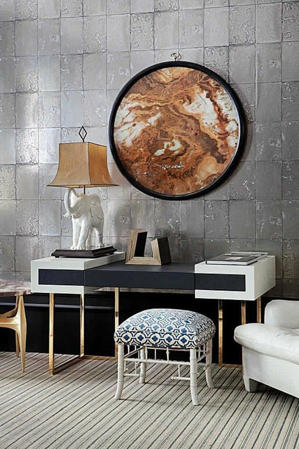 идеи за дизайн на коридор декорация стена мебели
