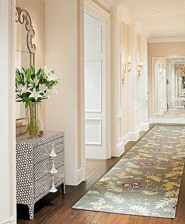 идеи за дизайн на коридор в бяло