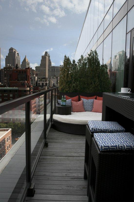 идеи-за-малка-тераса меки мебели