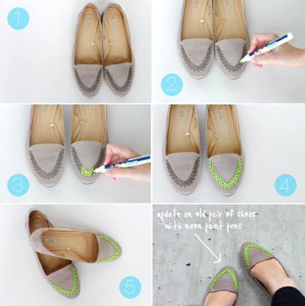 идеи обувки направи си сам декорация