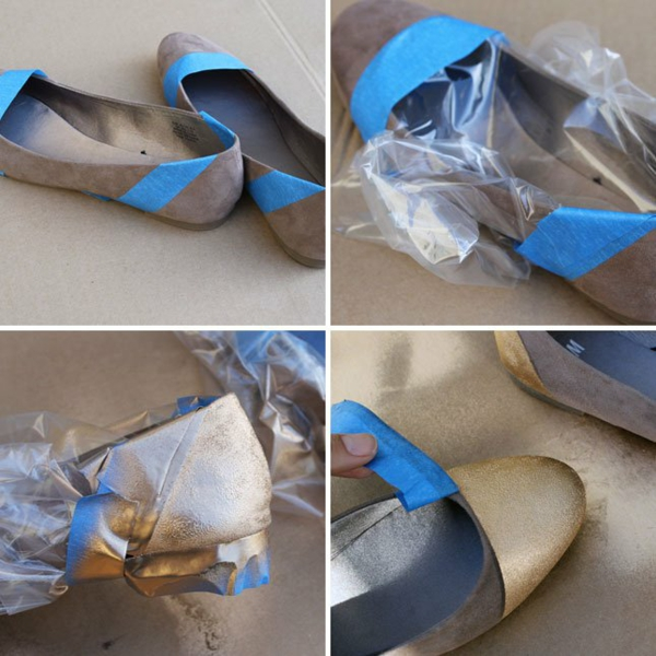 идеи обувки направи си сам сини найлон