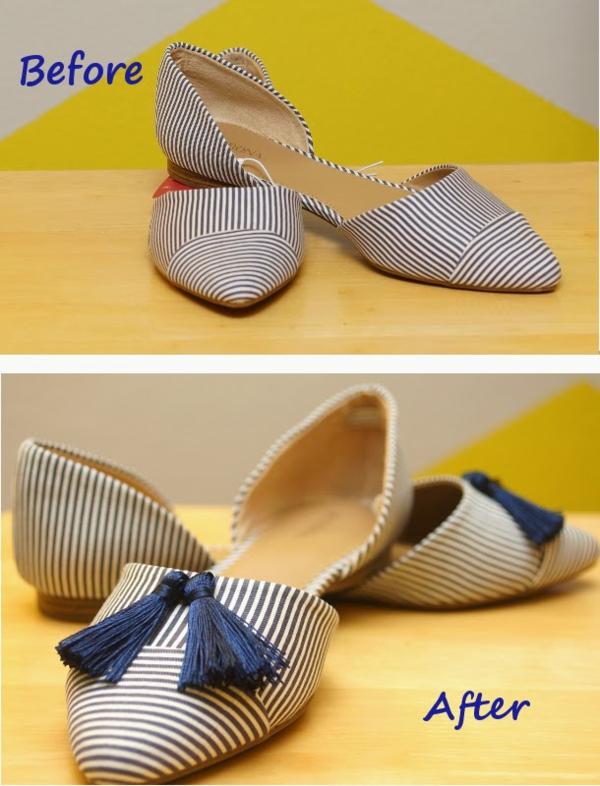 идеи за обувки направи си сам