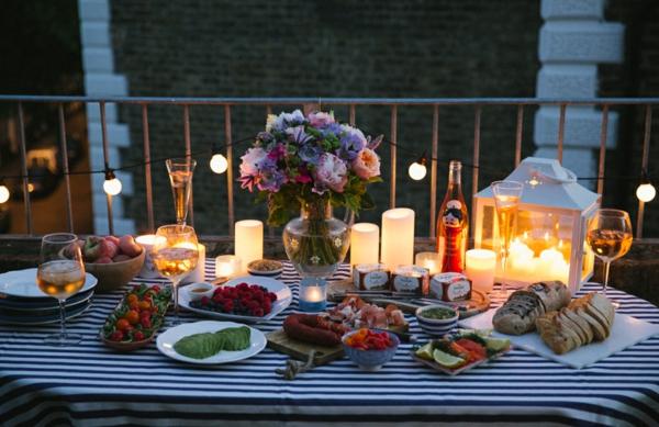 идеи за парти на тераса