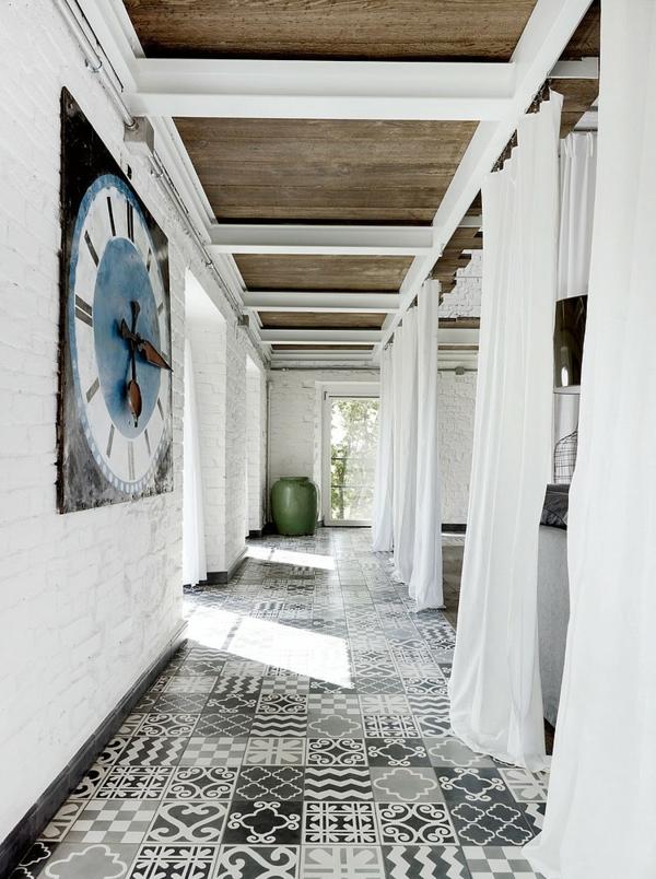 идеи тавани дърво бяло кафяво мебели