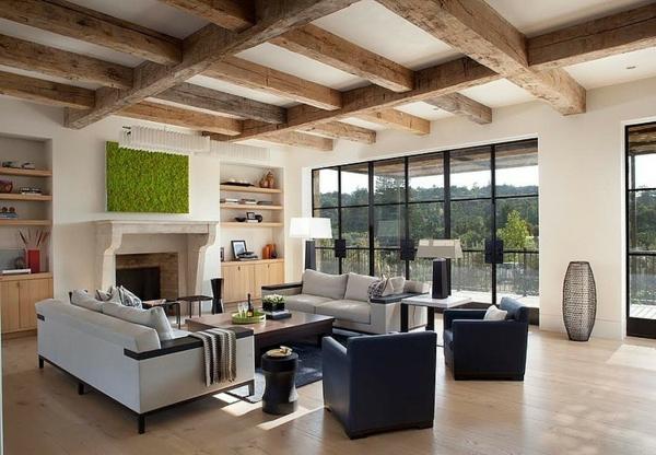 идеи-за-тавани-интериор-мебели-в-бяло-дърво