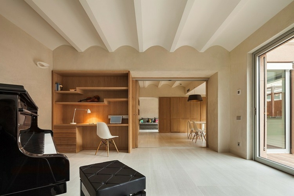 идеи-за-тавани-релеф-бяло-съвременен-стил