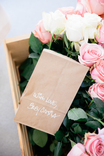 идея бебешко парти рози подаръчни торбички
