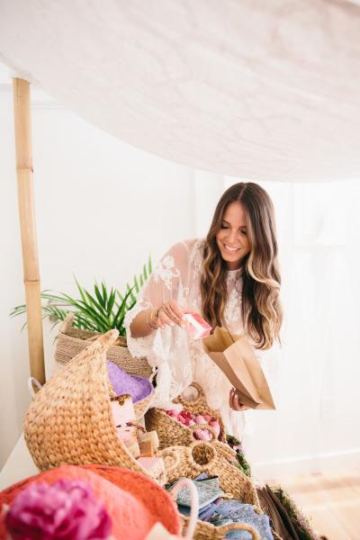 идея бебешко парти подаръчни торби
