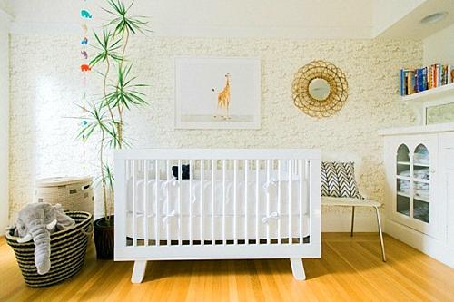 идея за детска стая новородено легло