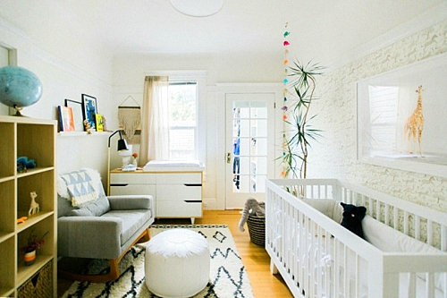 идея за детска стая за новородено