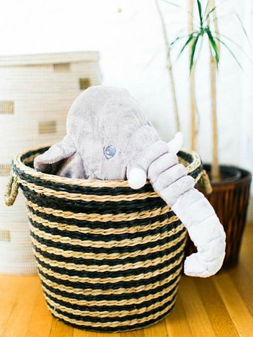 идея за детска стая новородено играчка слон