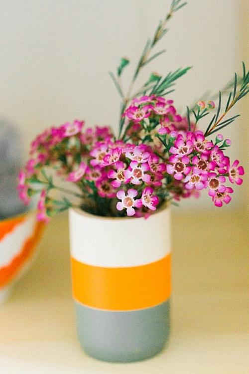 идея за детска стая новородено ваза цветя