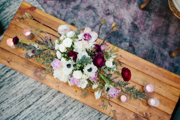 идея за парти за рожден ден цветя