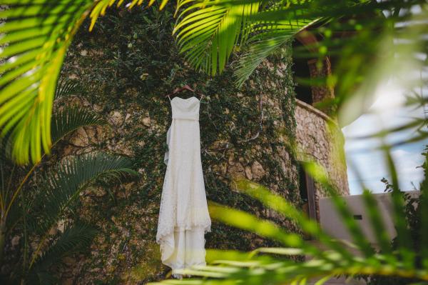 идея за рустик сватба край морският бряг сватбена рокля