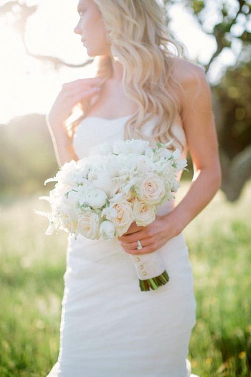 идея за сватба булка букет фотография