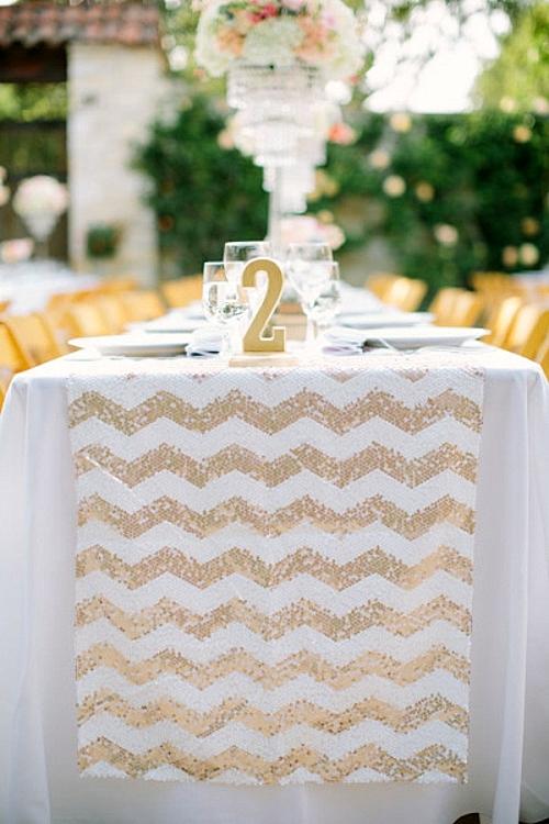 идея за сватба декорация маса
