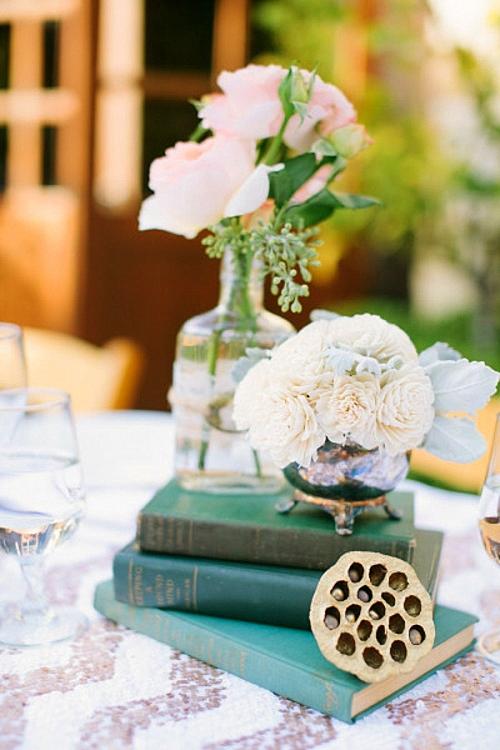 идея за сватба рустик декорация маса