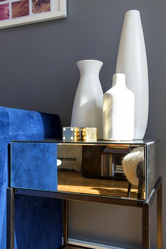 интериорен дизайн модерен стил вази