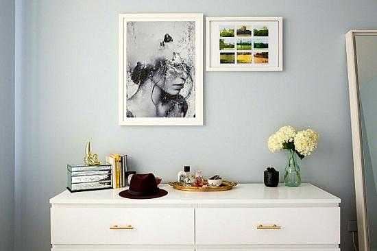 интериорен дизайн спалня модерен стил шкаф