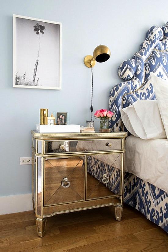 интериорен дизайн спалня шкаф модерен стил