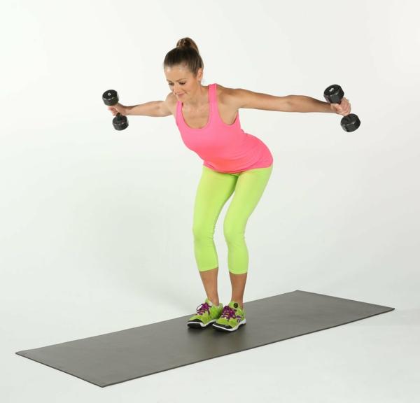 как да изгорим мазнините на ръцете упражнения тежести