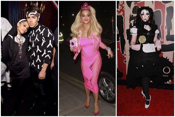 костюми за хелоуин на звездите