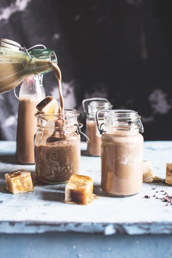 ледени кубчета от кафе