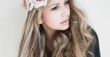 лента за глава цветя