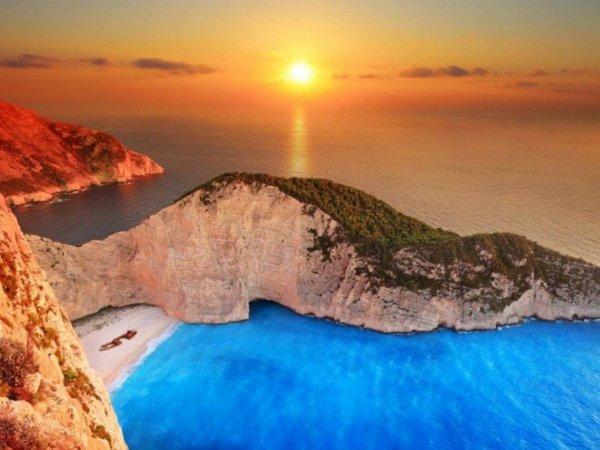 гърция закинтос плаж море пътуване