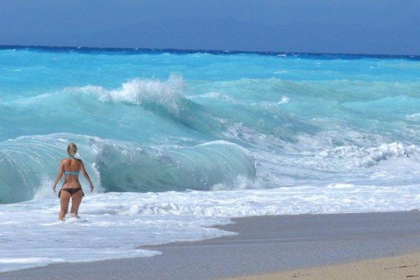 гърция лефкада дестинация плаж пътешествие