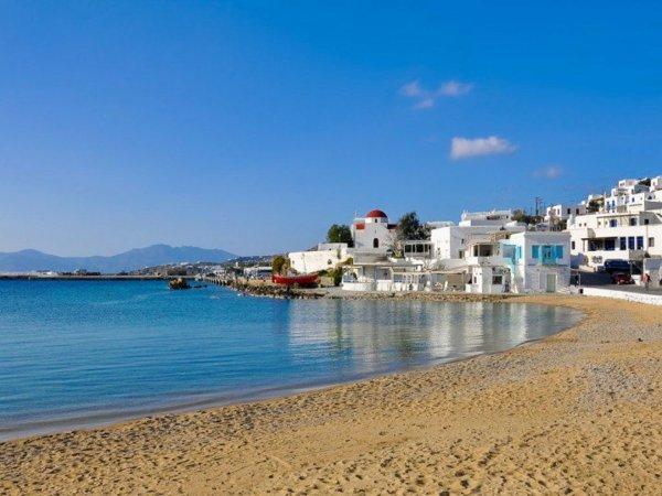 места в гърция миконос пътешествие плаж