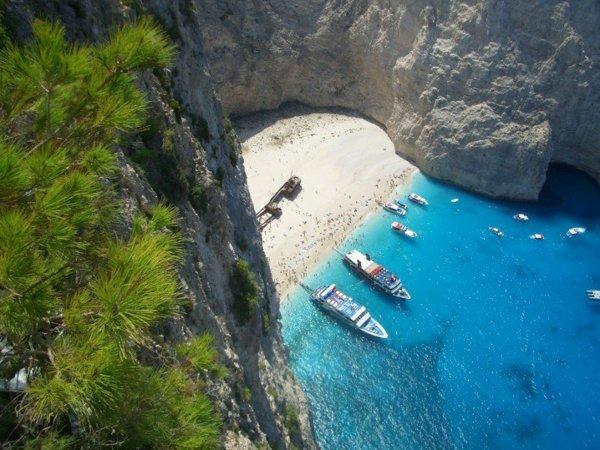 гърция закинтос плаж