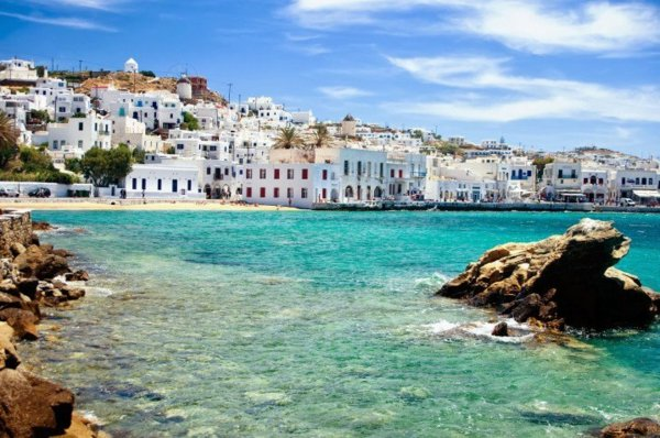 места в гърция пътешествие миконос дестинация плаж