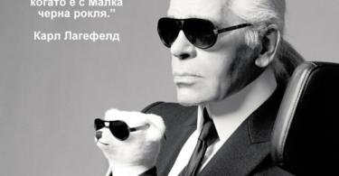 мисли и цитати на модни икони карл лагерфелд