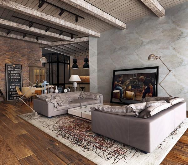модерен-рустик-интериорен-дизайн-хол-мебели