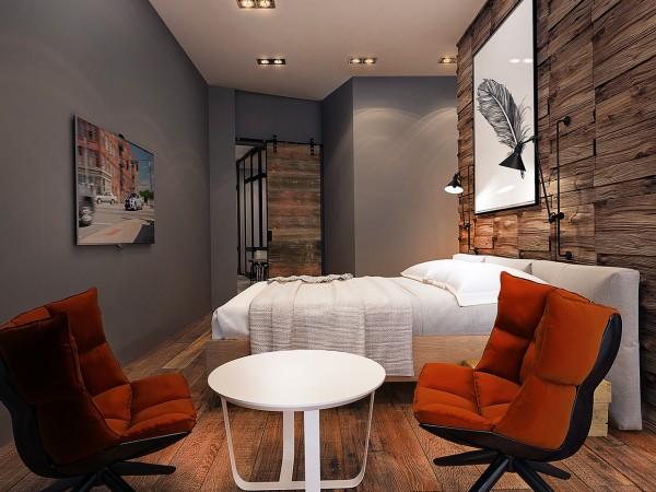 модерен-рустик-интериорен-дизайн-спалня