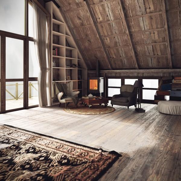 модерен-рустик-интериорен-дизайн-таван