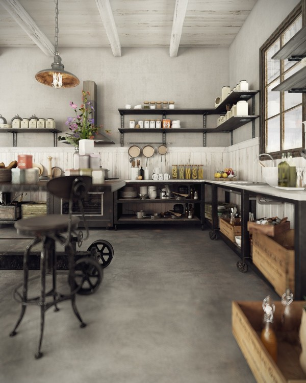 модерен-рустик-интериорен-дизайн-кухня-обзавеж