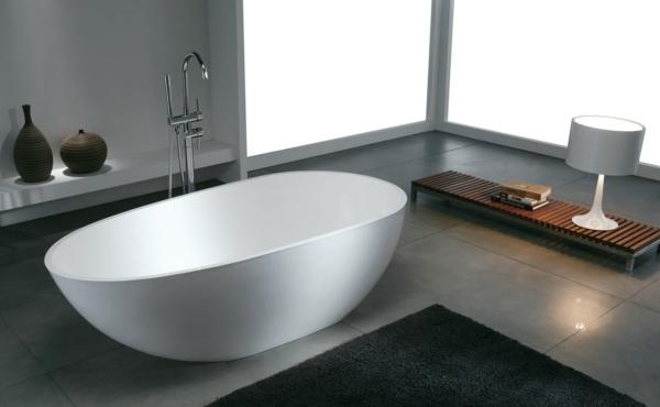 модерни-вани-баня-бяло-сиво