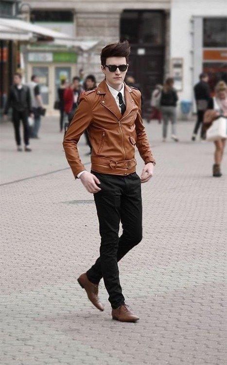 мъжки стрийт стайл яке